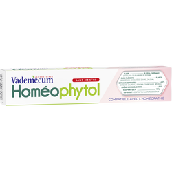 Dentifrice Homéophytol VADEMECUM, 75ml