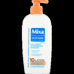 Lait pour le corps nutritif surgras intensif pour peaux sèches MIXA, 250ml