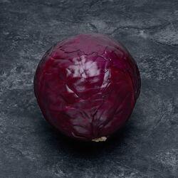 Chou rouge,Produit d'Auvergne, la pièce