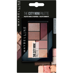 The city mini palette 410 chill brunch neutrals blister MAYBELLINE
