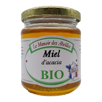 Miel d'acacia de France bio LE VERGER DES ABEILLES, 250g