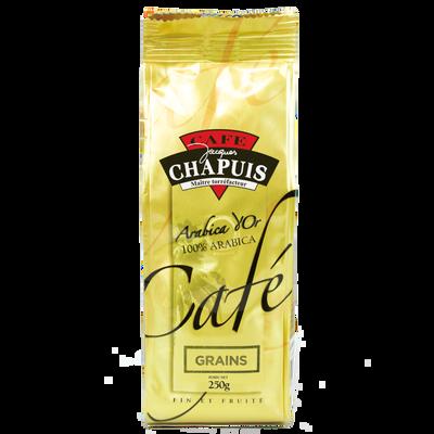 Café en grain arabica d'or CAFE CHAPUIS, 250g