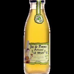 Jus de pomme LE BRUN, bouteille en verre de 1l