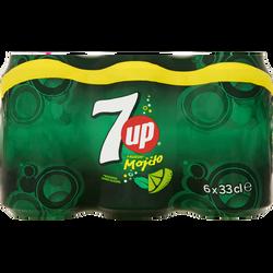 SEVEN UP mojito, 6 boîtes de 33cl