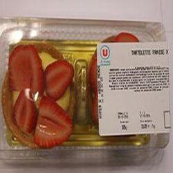 Tartelette aux fraises x2 185g