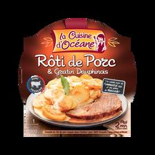 La Cuisine d'Océane Rôti De Porc Et Gratin Dauphinois , 300g