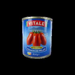 Tomates entières pelées VITALE boîte 4/4 480g