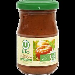 Sauce provençale U BIO, bocal de 212ml, 200g