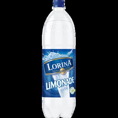 Limonade double zest LORINA, bouteille de 1,5l