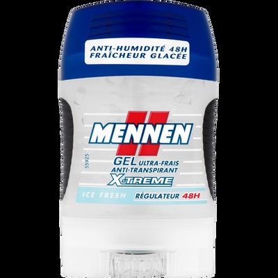Déodorant Ice Fresh X'Trem MENNEN, stick gel de 75ml