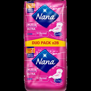 Nana Serviettes Ultra Normal Plus Dryfast Nana Jumbo Pack X28