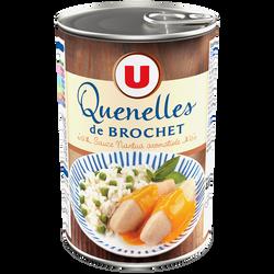 Quenelles de brochet sauce nantua aromatisée U, boîte de 400g