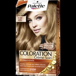 Coloration sans ammoniaque, PALETTE , blond clair sable 386