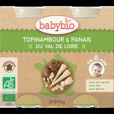 Pot topinambour & Panais du Val de Loire BABYBIO, dès 8mois, 2x200g