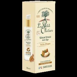 Sérum visage anti-âge à l'huile argan LE PETIT OLIVIER, 30ml
