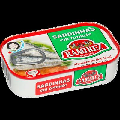 Sardine à la tomate RAMIREZ, 125g
