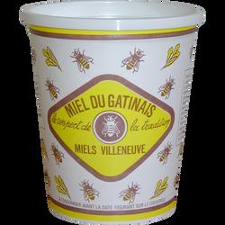 Miel du Gatinais de France, MIELS VILLENEUVE, carton tradition, pot de1kg