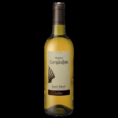 Vin blanc de Saint Mont AOP Réserve de Compostelle, 75cl