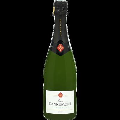 Champagne brut Louis Danremont U, bouteille de 75cl