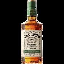 Tennessee Whiskey JACK DANIEL'S RYE, 45° bouteille de 70cl