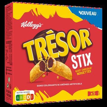 Kellogg's Barre Céréales Fourrage Chocolat Et Noisettes Trésor Stix Kellog's103g