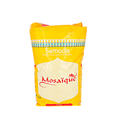 Semoule de blé dur fine MOSAÏQUE, sachet de 1kg