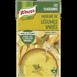 Mouliné de légumes variés riche en légumes KNORR, 1l
