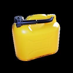 Jerrican 10L jaune