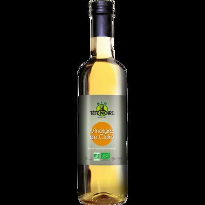 Vinaigre de cidre bio TETE NOIRE, bouteille de 50cl