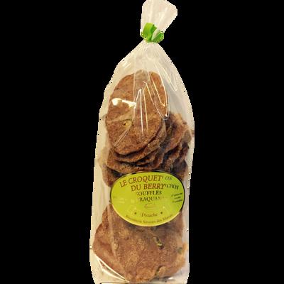 Le croquet'on du berry'chon soufflés et craquants goût pistache SAVEURS DES MARAIS, 160g