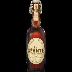 Bière blonde LA GEANTE, 7,4°, bouteille de 75cl