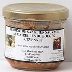 Terrine de chevreuil sauvage aux airelles du Bouges Cévennes, 180g