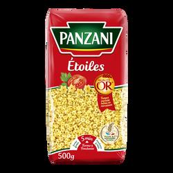 Pâtes à potage étoiles PANZANI, paquet de 500g