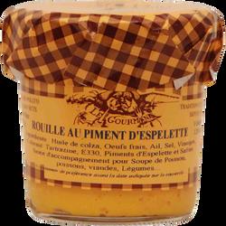 Rouille sétoise au piment d'espelette LE GOURMAND, 120ml