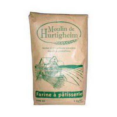 Farine à pâtisserie type 45 MOULIN DE HURTIGHEIM, 1kg