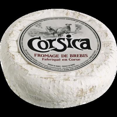 CORSICA, Fromage au lait de brebis pasteurisé, 28% Mat.Gr