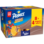 LU Au Chocolat Lu Prince, 8x300g + 4 Offerts