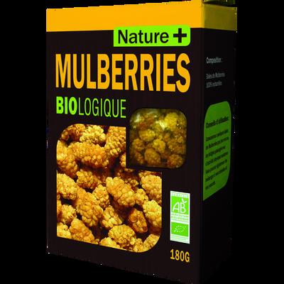 Baies de mulberries bio NATURE+, 180g
