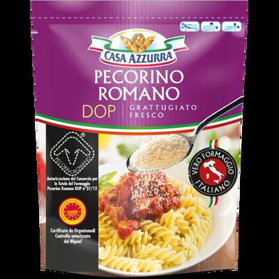 Pecorino Romano râpé AOP au lait thermisé de brebis 32% de MG CASA AZZURRA, 70g