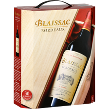 Vin rouge AOP Bordeaux Blaissac, fontaine à vin de 3l