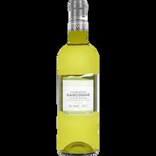 Côtes de Gascogne IGP blanc sec horizon Gascogne U, bouteille de 75cl