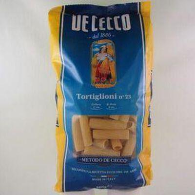 Pâtes Tortiglioni N°23 DE CECCO,500g