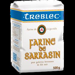Farine de sarrasin, TREBLEC, paquet de 500g