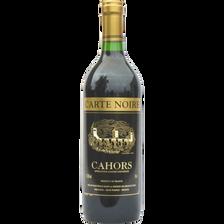 Vin rouge AOC Cahors CARTE NOIRE, 75cl