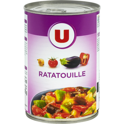 Ratatouille U, boite ouverture facile, 375g