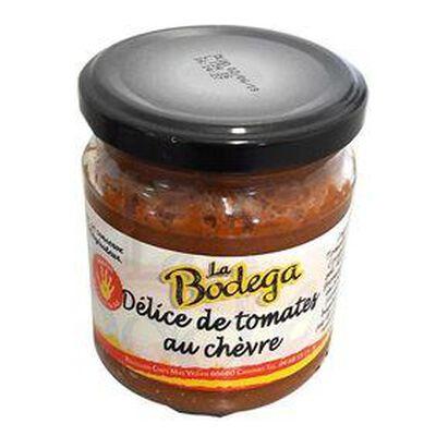 Délice de Tomate au chèvre, Bocal de 190G LA BODEGA
