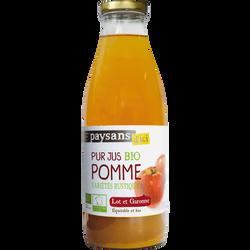 Pur jus de pomme Lot et Garonne Bio PAYSANS, 1L