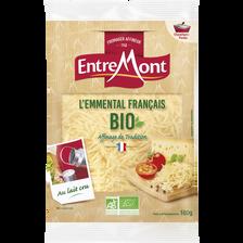 Entremont Fromage À Pâte Pressée Non Cuite Au Lait De Vache Pasteurisé, Emmentalfrançais Râpé, , 29% De Mg, 250g