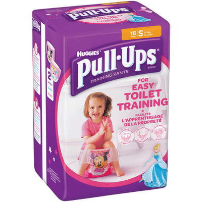 Couches culottes pour filles Pull Ups HUGGIES, taille 4, x16