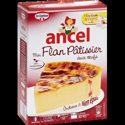 Mon flan pâtissier aux oeufs 2 doses ANCEL, 720g